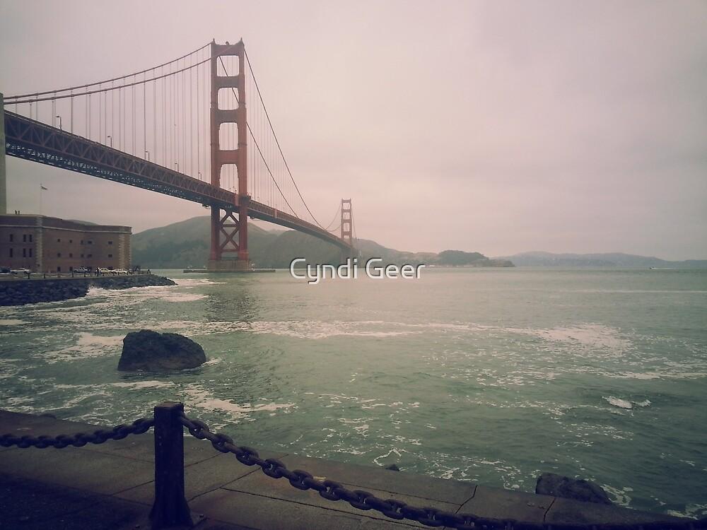 Golden Gate Bridge by Cyndi Geer