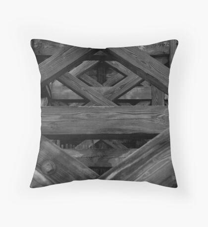 Lattice II Throw Pillow