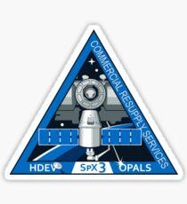 NASA Crest for SpX-3.  Sticker