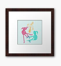 Dolls Framed Print