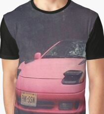 Pink Season - Pink Car Graphic T-Shirt