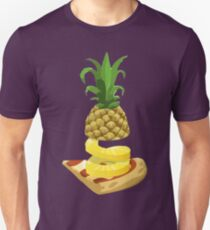Pineapple on pizza? We think so. Unisex T-Shirt