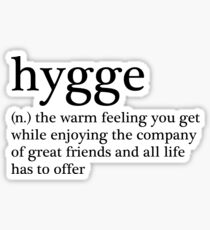 Hygge Sticker