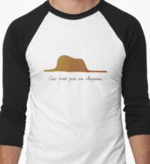 Ceci n'est pas un chapeau v.1 Men's Baseball ¾ T-Shirt
