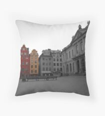 Gamla Stan Throw Pillow