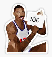 Wilt Chamberlain 100 Points Sticker