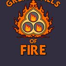 Great Balls of Fire! by HandDrawnTees