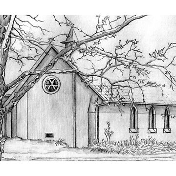 All Saints School Chapel by Matt83artist