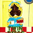 Ozma the Guinea Pig Shelly Johnson from Twin Peegs aka Twin Peaks  by Rachel Smith