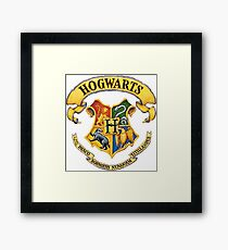 Harry Potter Hogwarts Logo Framed Print