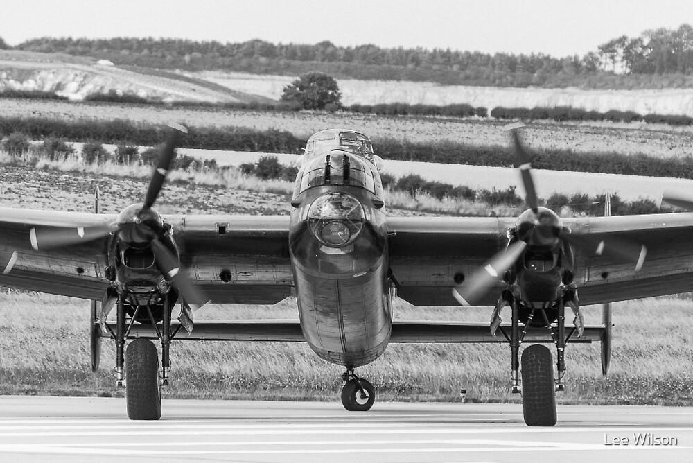 Lancaster Bomber by Lee Wilson