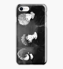 the last train headed out of the city iPhone Case/Skin