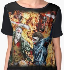 the battle for HELL Women's Chiffon Top