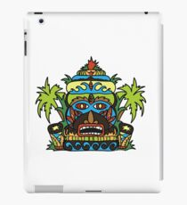 Wild Tiki God iPad Case/Skin