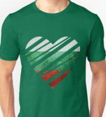 Bulgaria Heart Unisex T-Shirt