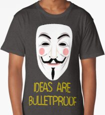 IDEAS ARE BULLETPROOF Long T-Shirt