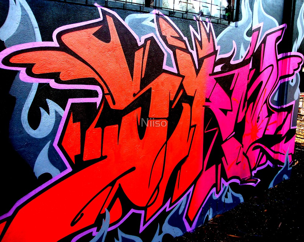 street art by Niiso