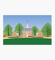 Williamsburg, Va - Governor's Palace Photographic Print