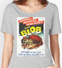 The Blob - Vintage Sci-Fi Horror Movie Poster Women's Relaxed Fit T-Shirt