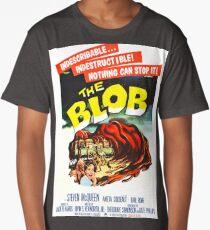 The Blob - Vintage Sci-Fi Horror Movie Poster Long T-Shirt