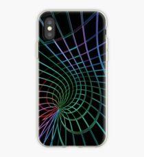 Vinilo o funda para iPhone Abstrait néon