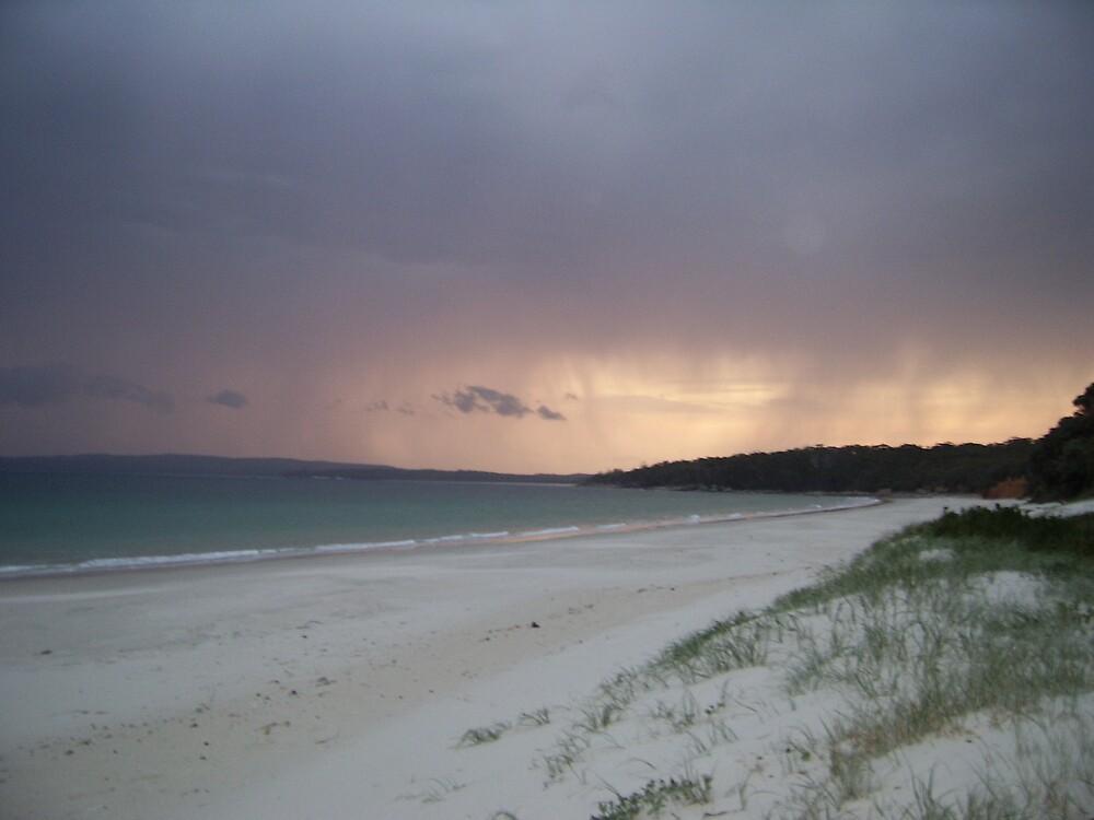 stormy beach by bessie420