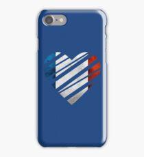 France Heart iPhone Case/Skin
