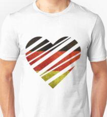 Germany Heart Unisex T-Shirt