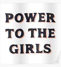 Power für die Mädchen Poster
