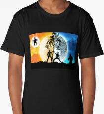 Dayman vs Nightman Long T-Shirt