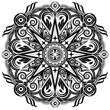 Mandala Let It Grow by Grafx-Guy