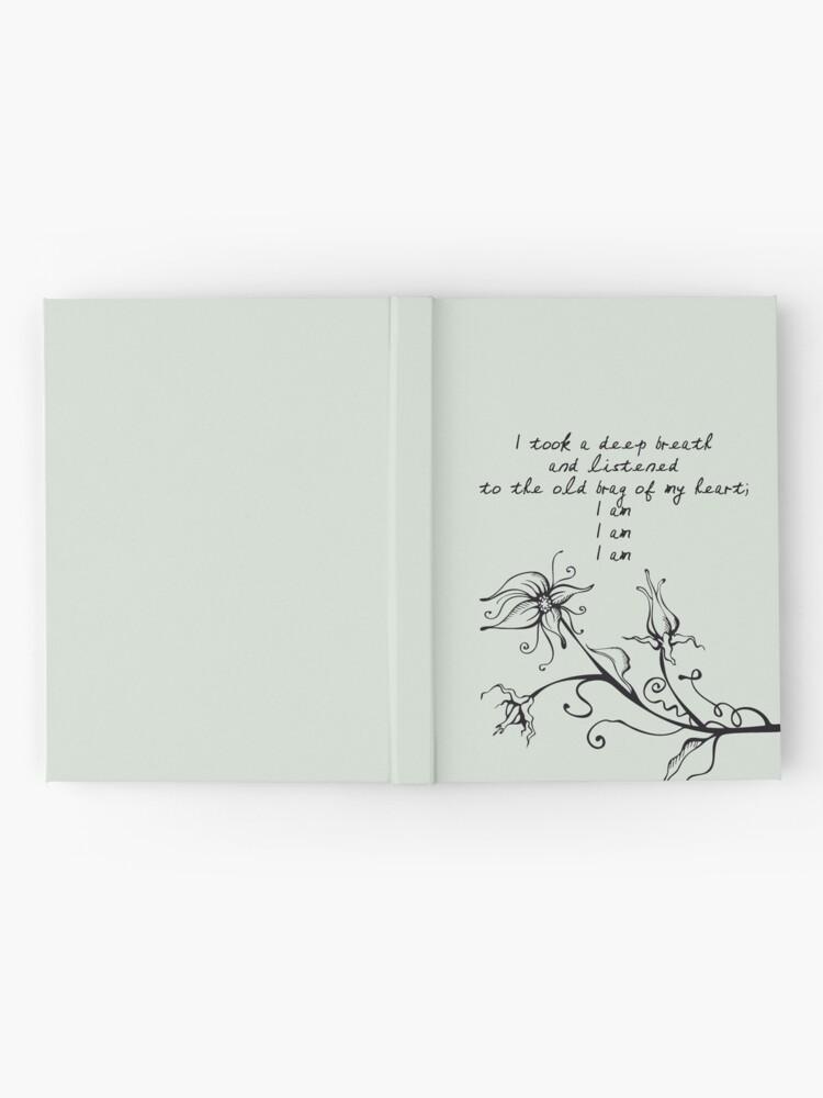 Vista alternativa de Cuaderno de tapa dura Sylvia Plath - Soy, soy, soy.