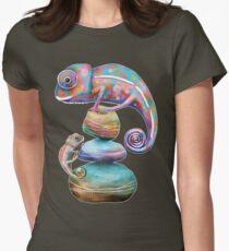 Chameleons Womens Fitted T-Shirt