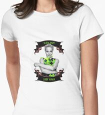 Alien Baby Baby Mama Gillian Anderson X Files Womens Fitted T-Shirt