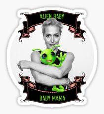 Alien Baby Baby Mama Gillian Anderson X Files Sticker