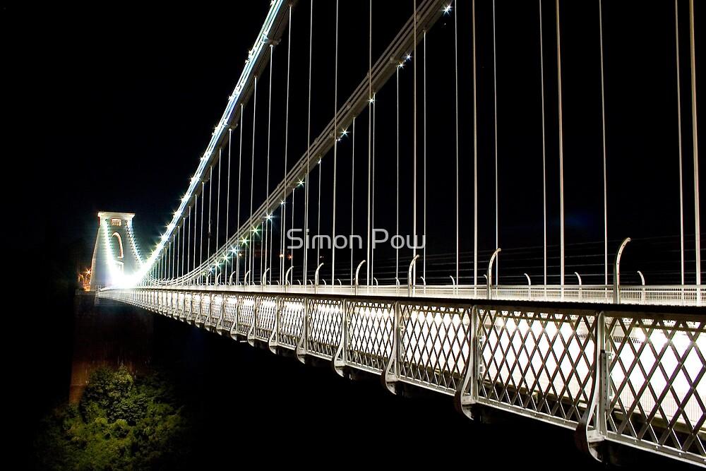 Clifton Suspension Bridge Looking West by Simon Pow