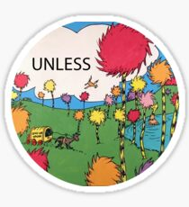 Unless Sticker Sticker