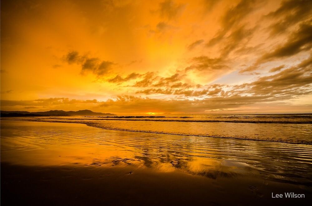 Beach Sunset by Lee Wilson