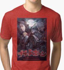 Bloodborne Japanese Cover Tri-blend T-Shirt