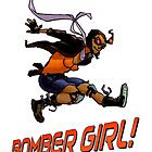 BOMBER GIRL ACTION by AndrewSteers