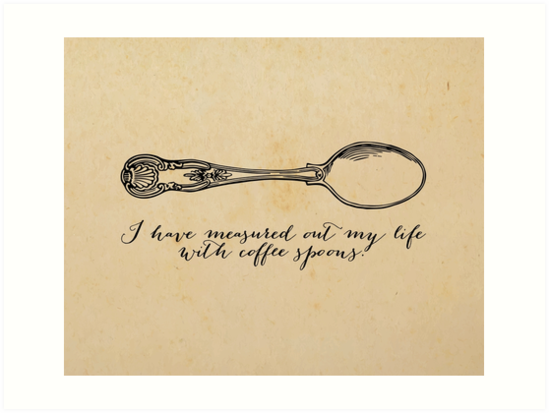ts eliot coffee spoons