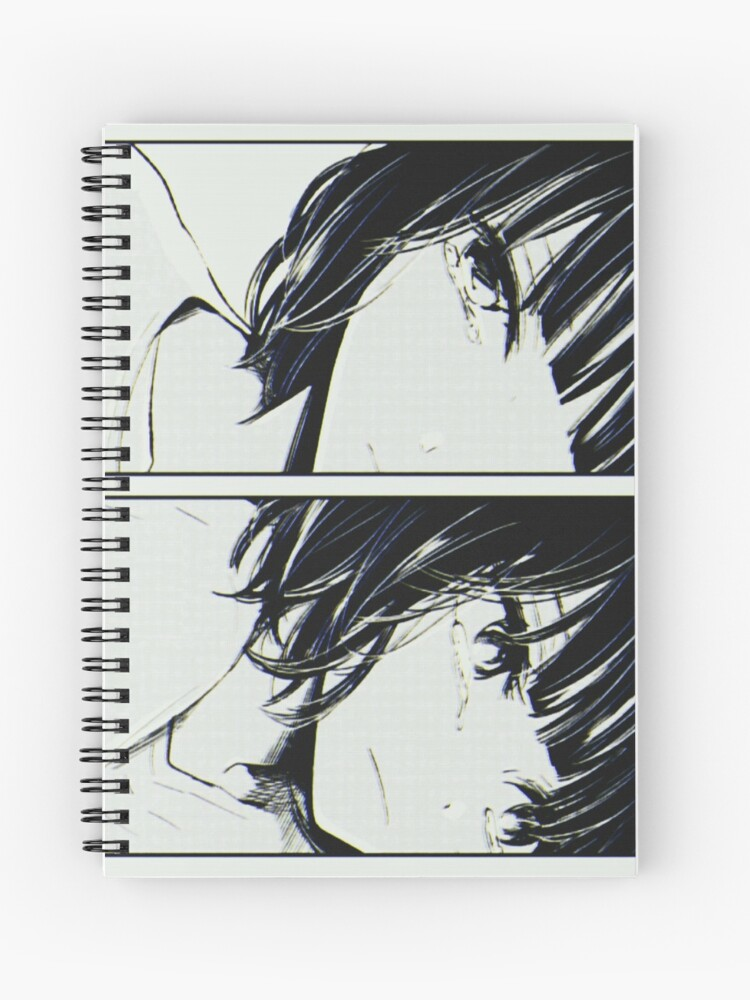 Tumblr Anime Girl Spiral Notebook
