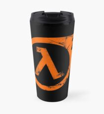 HL2 Orange Travel Mug