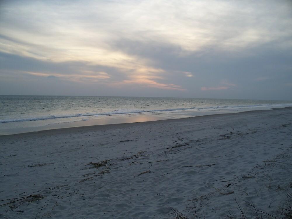 Oak Island at Sunset by ctrogdon