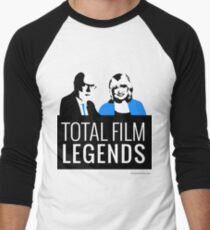 Margaret and David - Total Film Legends Men's Baseball ¾ T-Shirt