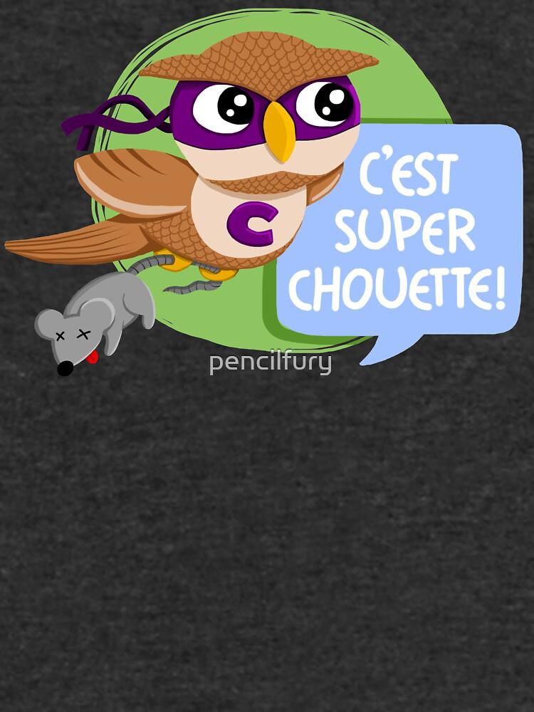 Super Owl by pencilfury