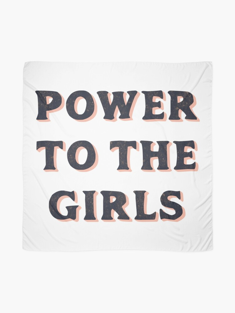 Alternate view of Power To The Girls Scarf
