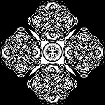 Mandala Sunrise by Grafx-Guy