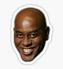 Ainsley Harriott give your meat a good ol rub Sticker