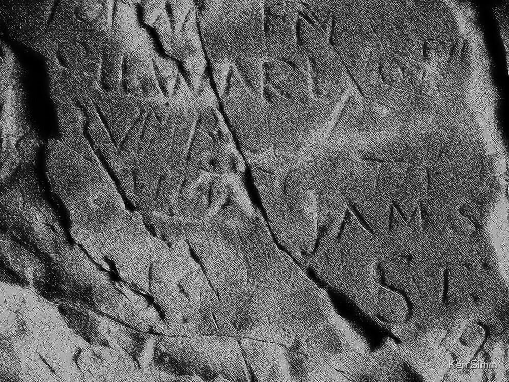 Stone Graffitti by Kenart